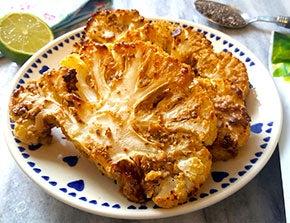 oriental inspired cauliflower steaks